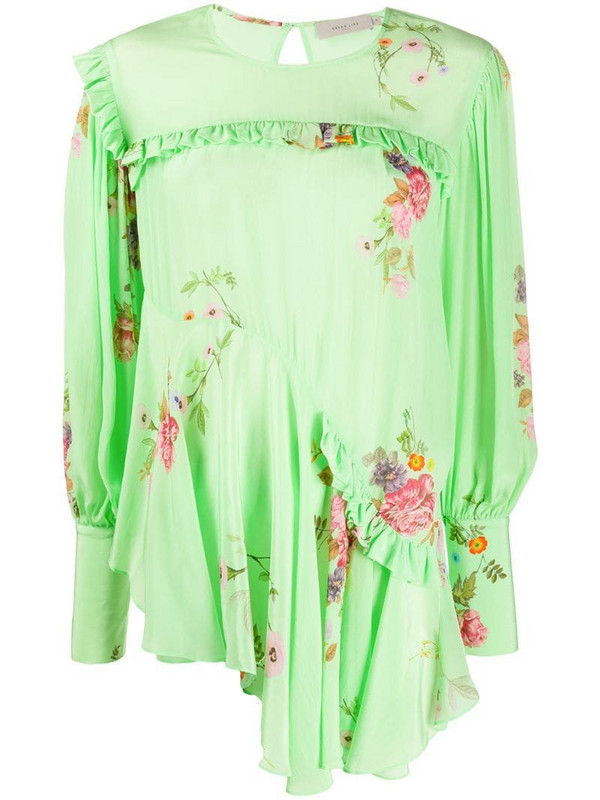 Preen Line Kapona floral print top in green
