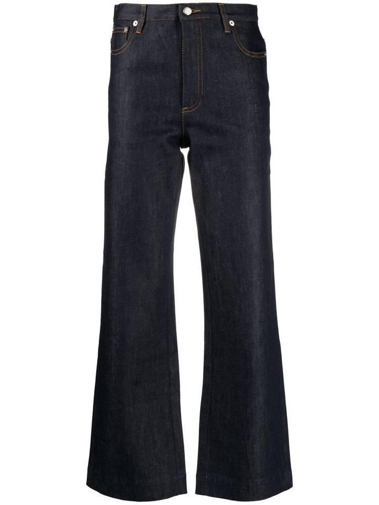A.P.C. A.P.C. high-waisted flared jeans - Blue