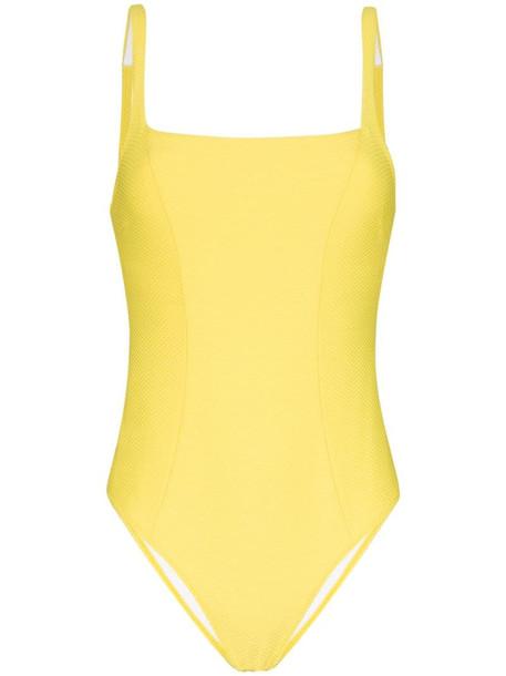 Heidi Klein Cancun swimsuit in yellow