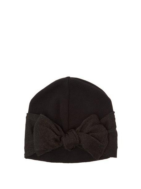 Federica Moretti - Wool Blend Beanie - Womens - Black