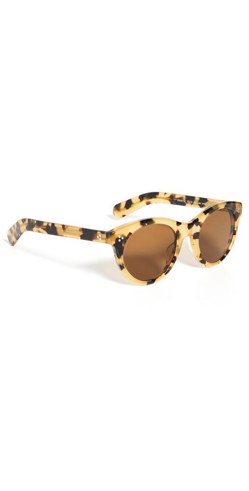 Oliver Peoples Eyewear Merrivale Sunglasses in brown