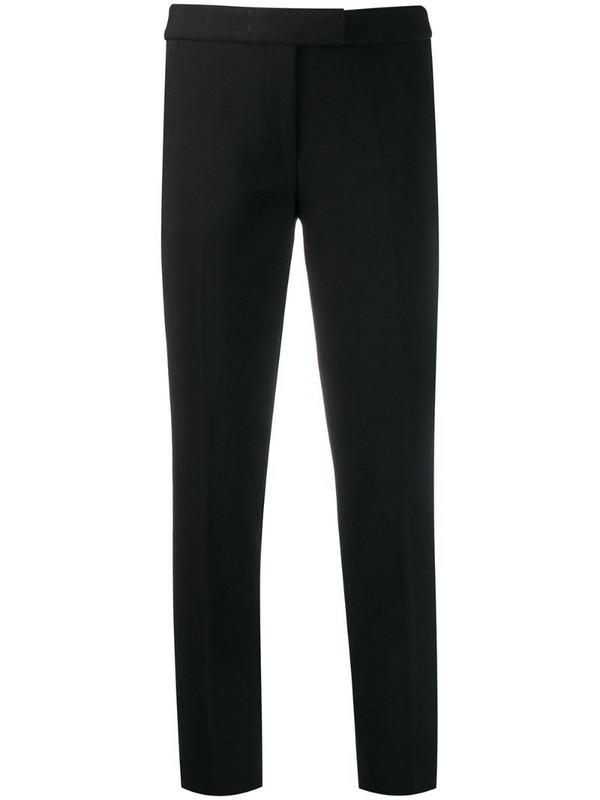Michael Michael Kors slim fit cropped trousers in black