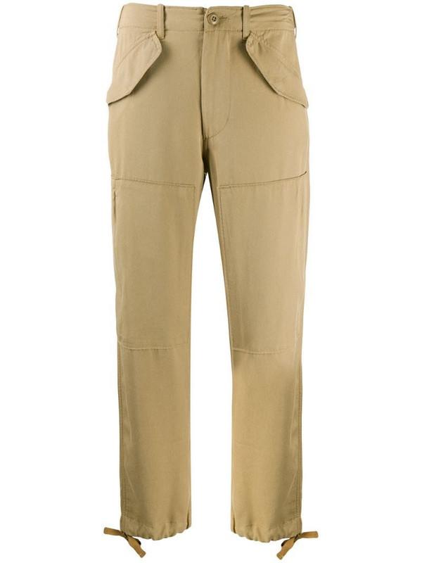 Polo Ralph Lauren twill cargo trousers in neutrals