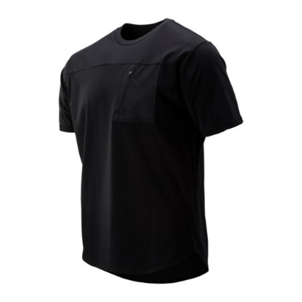 New Balance 93535 Men's Sport Style Pocket Tee - Black (MT93535BK)