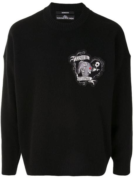 SONGZIO x Tim Burton Eternal Love sweatshirt in black