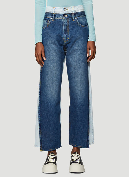 Maison Margiela Vintage Wash Jeans in Blue size IT - 44