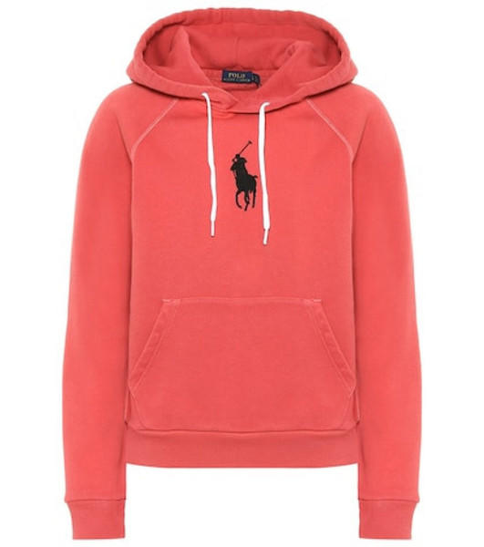 Polo Ralph Lauren Cotton-blend hoodie in red