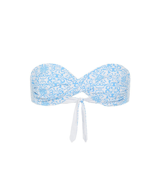 Melissa Odabash Martinique bikini top in blue