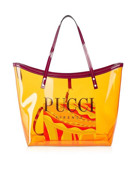 Emilio Pucci Signature Transparent Tote Bag
