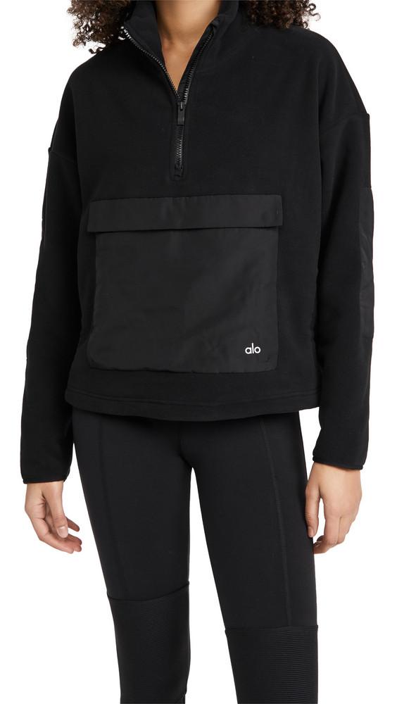 Alo Yoga Blackcomb Pullover in black