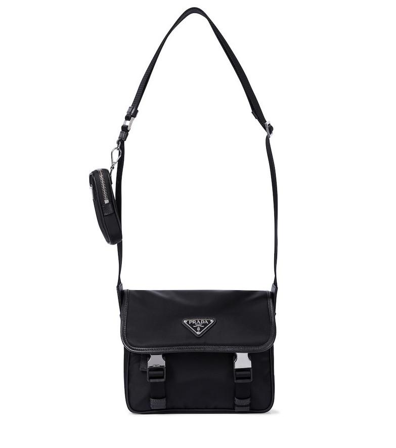 Prada Nylon shoulder bag in black