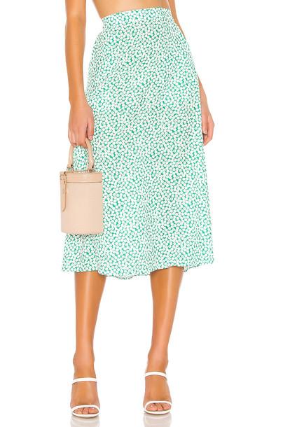 Endless Summer Ella Skirt in green