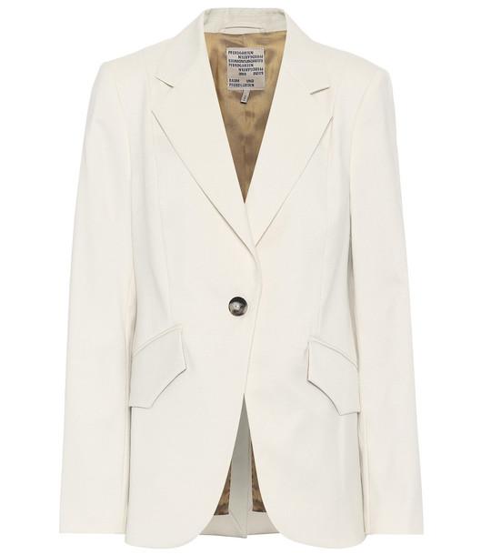 Baum und Pferdgarten Beyonce blazer in white
