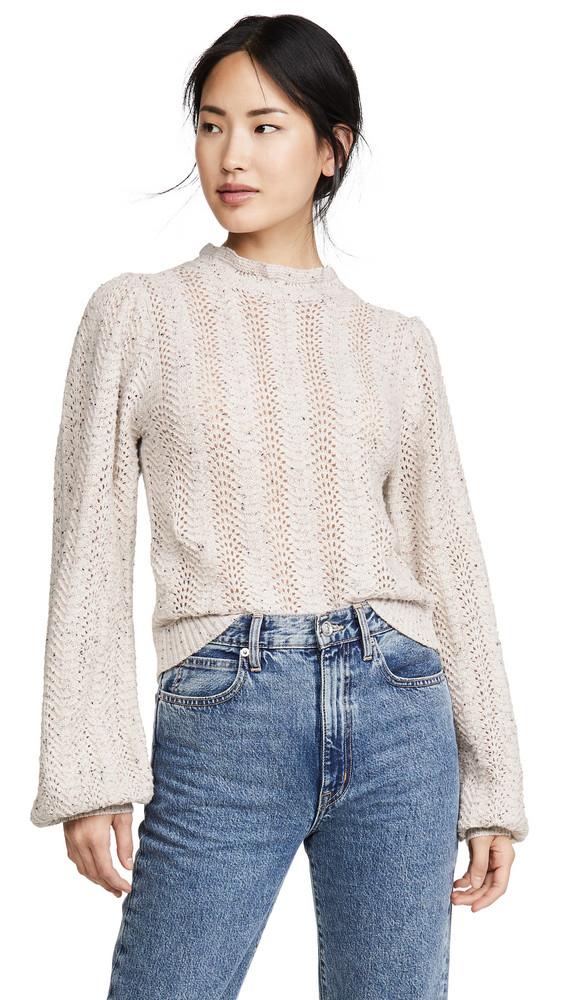 ASTR the Label Brynn Sweater in cream / multi