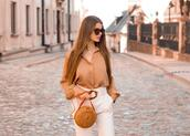 only my fashion style,blogger,shirt,pants,bag,shoes,round bag,beige shirt