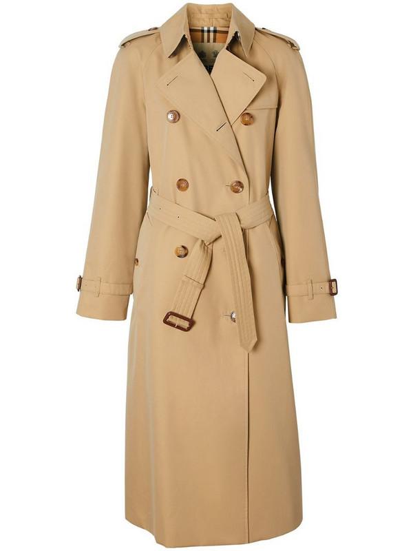 Burberry The Waterloo Heritage trench coat in neutrals