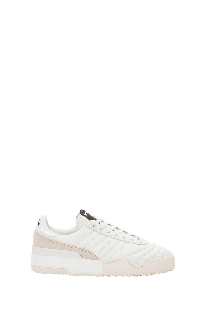 Adidas Originals by Alexander Wang Bball Soccer Sneakers in bianco
