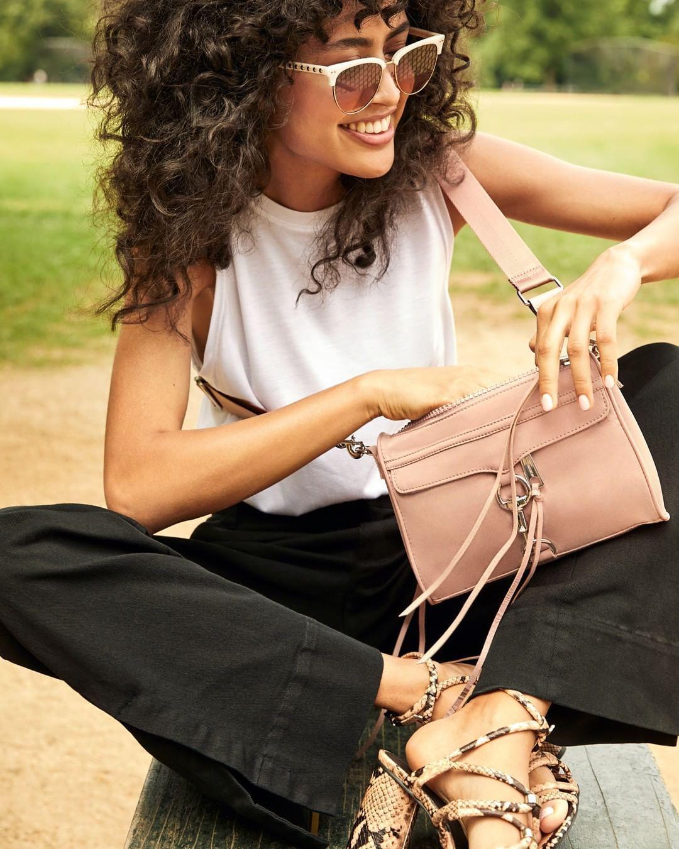 bag pants sunglasses shoes