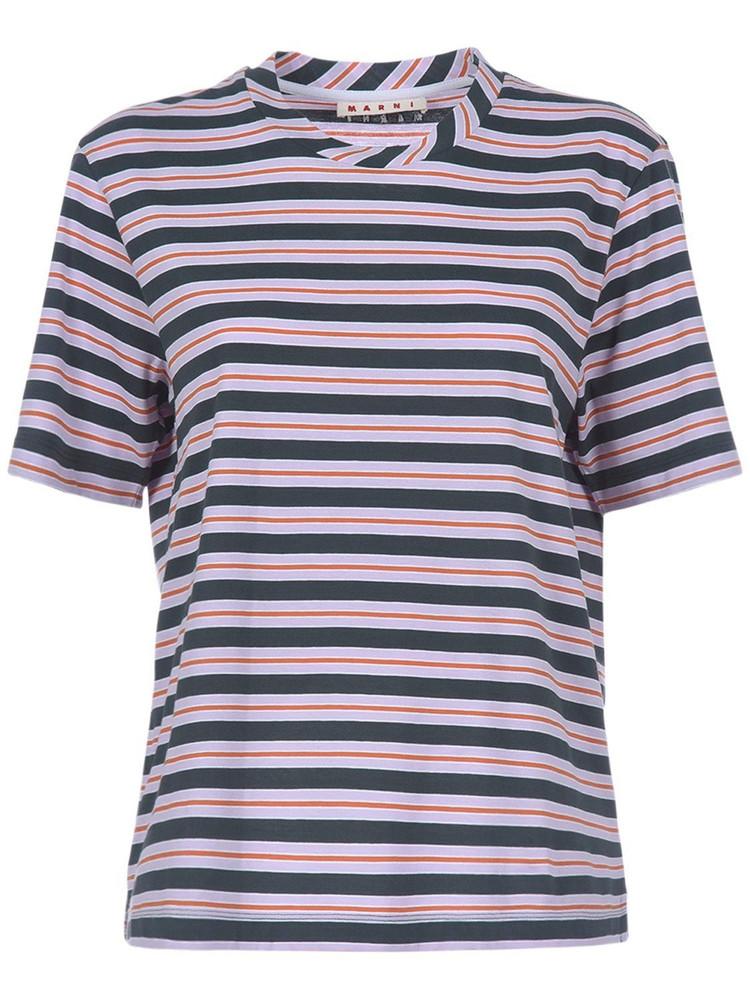 MARNI 3-pack Striped Cotton Jersey T-shirts