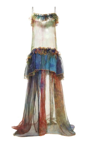 Germanier Multi Tiered Dress