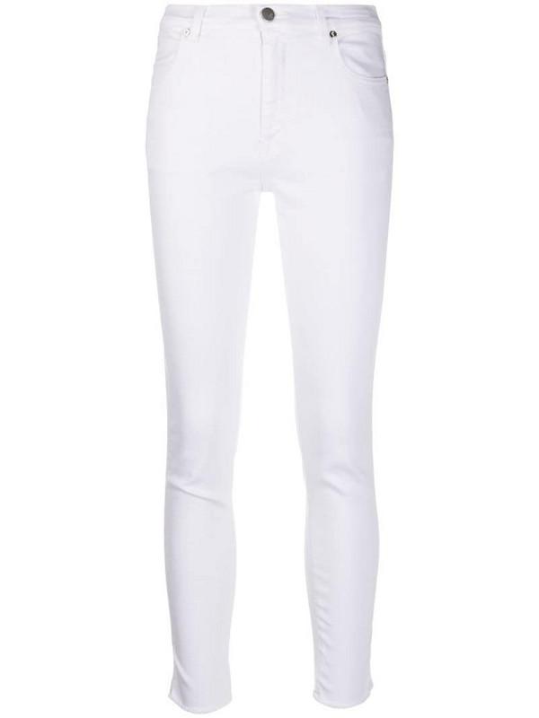 Pt01 skinny leg jeans in white