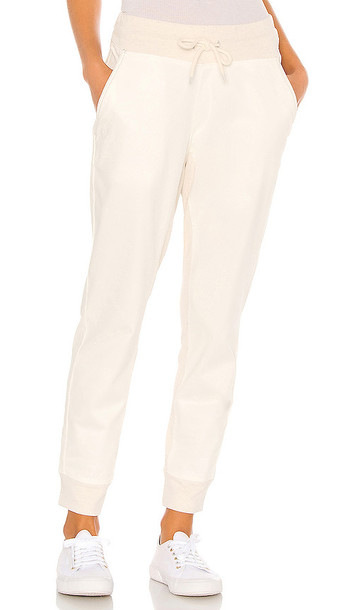 Varley Valley Pant in Ivory in white
