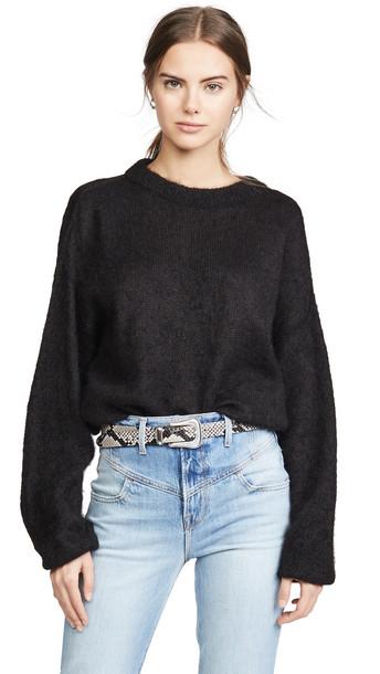 Free People Angellic Sweater in black