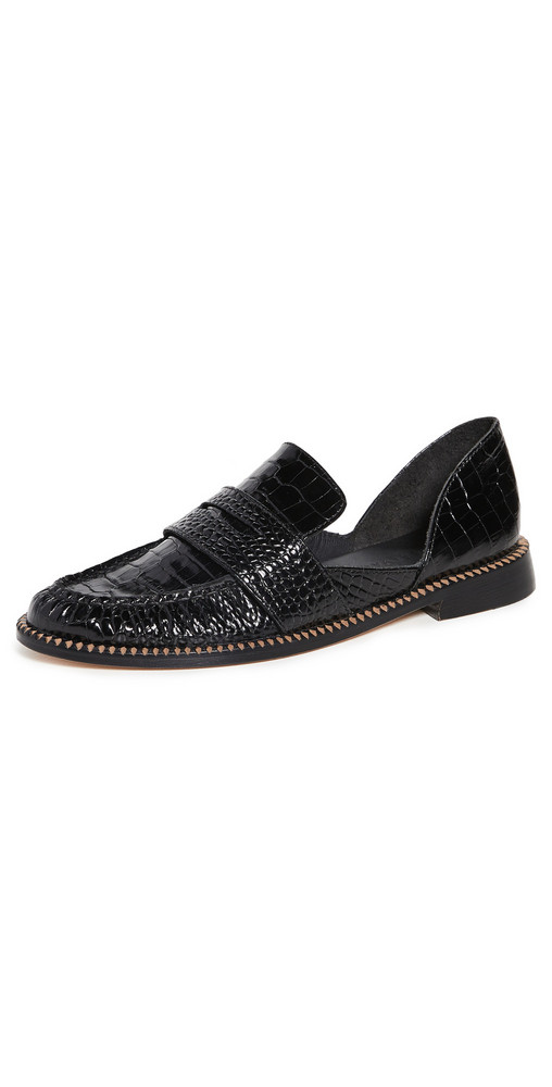 Freda Salvador Tash D'orsay Loafers in black
