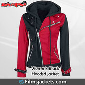 coat,women's harley quinn jacket,jacket,hoodie,fashion,outfit,style,womenswear,lifestyle,womens fashion,women's outfit