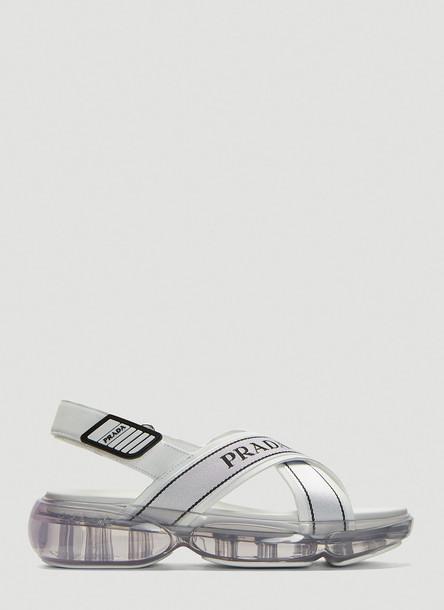 Prada Clousbust Sandals in White size EU - 40