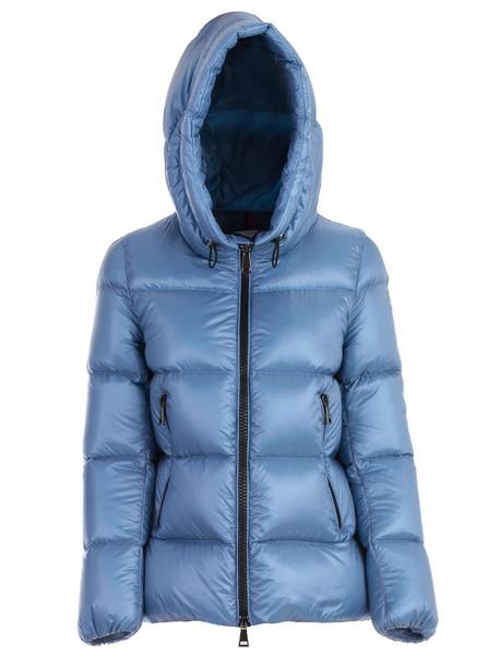 Moncler Seritte Padded Jacket W/hoos in blue