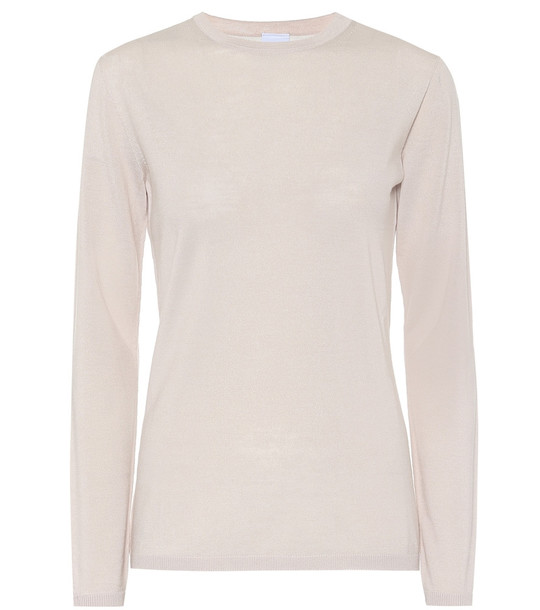 Max Mara Leisure Astice virgin-wool sweater in beige