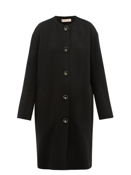 Marni - Cashmere-blend Coat - Womens - Black
