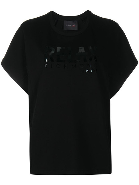 John Richmond Relax fitness sweatshirt in black