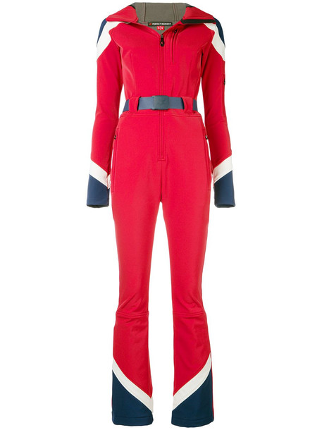 Perfect Moment Allos belted jumpsuit - Red