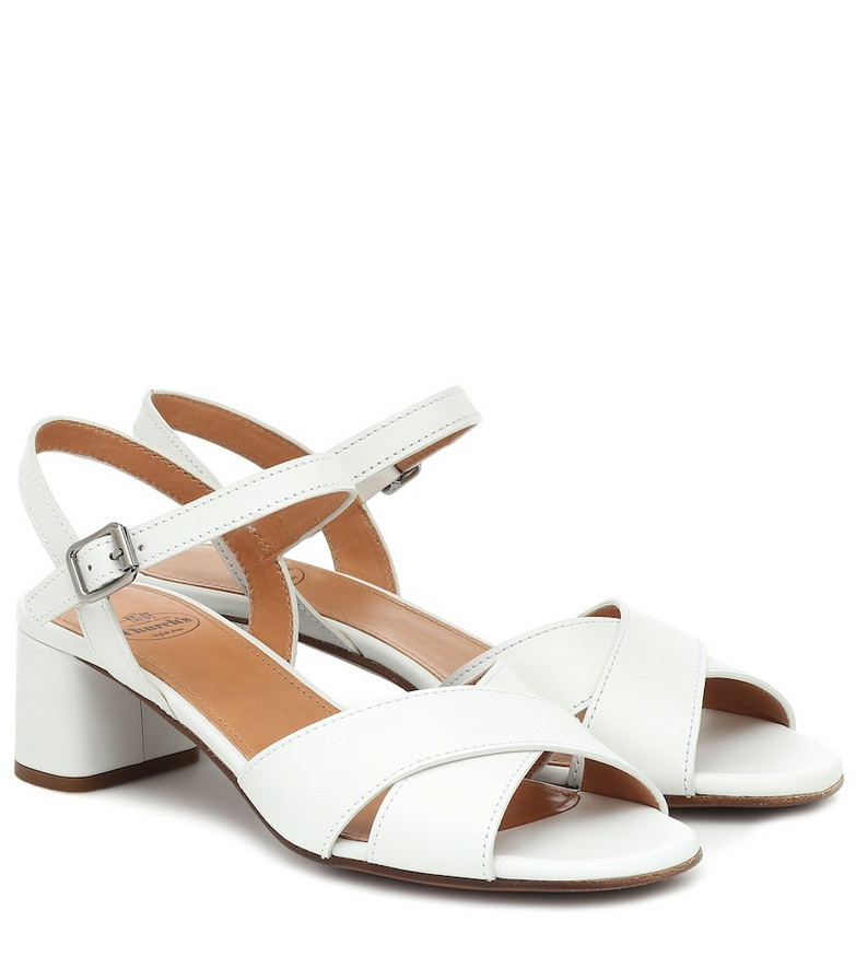 Church's Dolly leather sandals in white