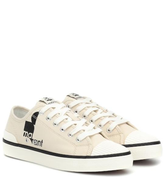 Isabel Marant Binkoo low-top sneakers in beige / beige
