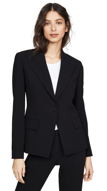 Theory Angled Blazer in black