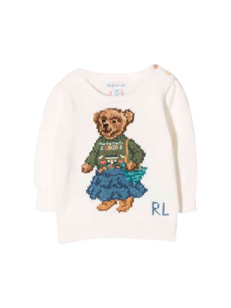 Ralph Lauren Newborn Cream Sweater