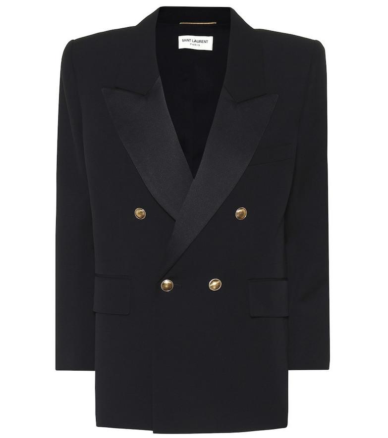 Saint Laurent Wool blazer in black