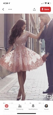 dress,pink,prom dress,short,short dress,prom,pink prom dress,floral
