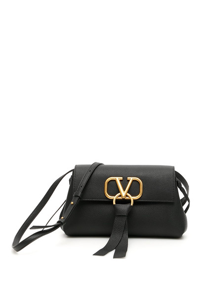 Valentino Garavani Vring Crossbody Bag in black