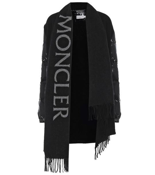 Moncler Wool jacket in black