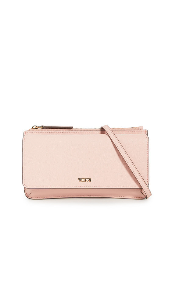 Tumi Wallet Crossbody in blush