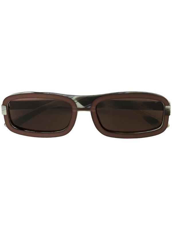 Linda Farrow x Y/Project 6 sunglasses in black