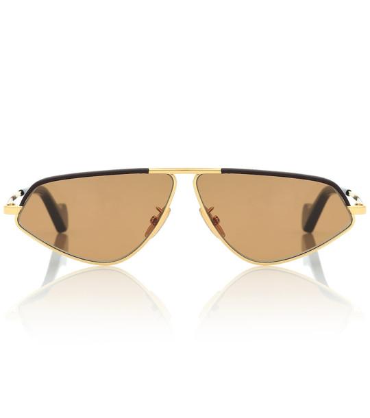 Loewe Geometric sunglasses in brown