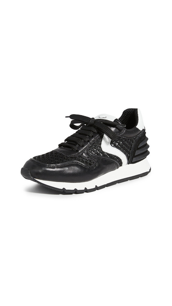 Voile Blanche Julia Power Mesh Exclusive Sneakers in black