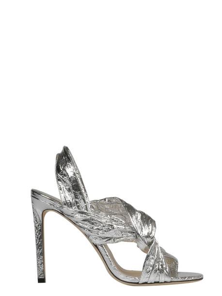 Jimmy Choo Lalia Sandals in silver