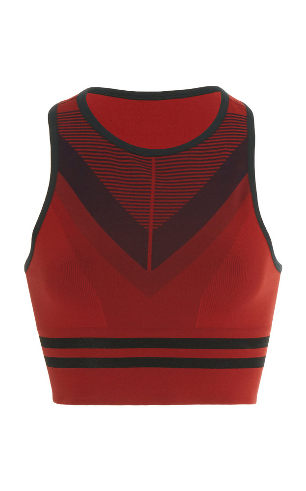 LNDR Skylark Seamless Stretch Sports Bra Size: XS/S in red