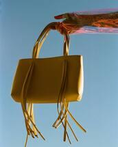 bag,yellow bag